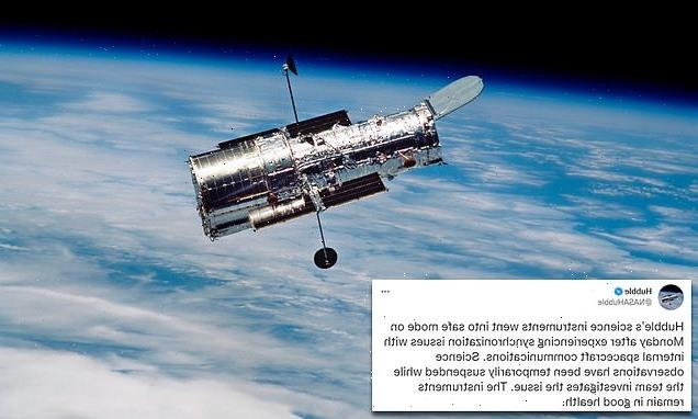 Hubble telescope has stopped working for the second time this year