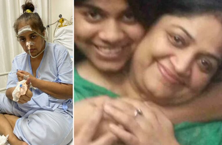 I sobbed as I watched my mum collapse on a video call from a stroke – I was 4k miles away and could do nothing to help
