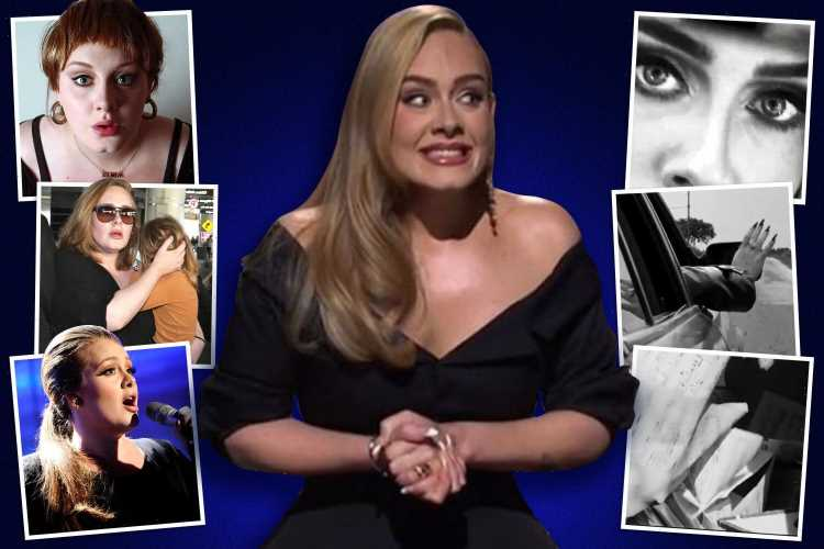 Inside Adele's transformation from puffing cigs & playing to 20 people to new 30 album & £140 million fortune