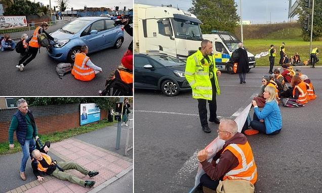 Insulate Britain are BACK: Eco-protestors bring M25 to a halt