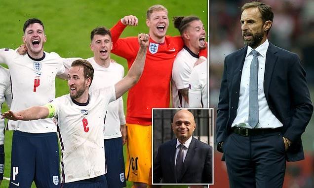 Javid warns FIVE England footballers who refused jab