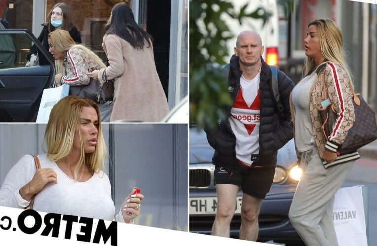 Katie Price hits the shops on break from rehab after drink-drive arrest