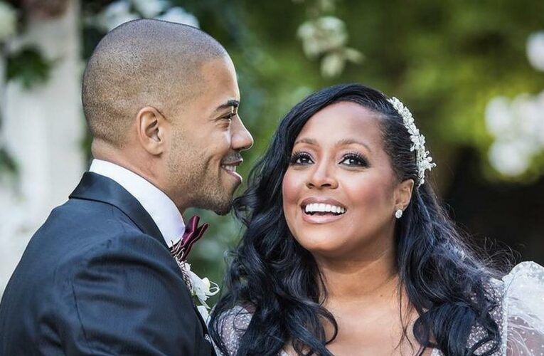 Keisha Knight Pulliam and Brad James Get Married, Share First Wedding Pics