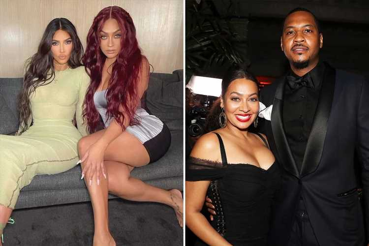 Kim Kardashian's best friend LaLa Anthony says she'll NEVER marry again after 'really hard' divorce