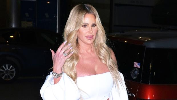 Kim Zolciak, 43, Stuns In Tight Black Leather Pants For Night Out In Las Vegas