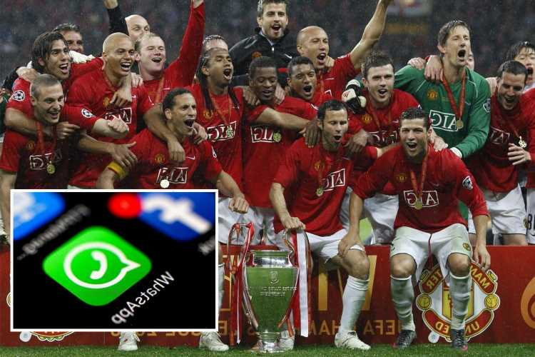 Man Utd 2008 Champions League winners have WhatsApp group chat as Patrice Evra reveals stars miss dressing room banter