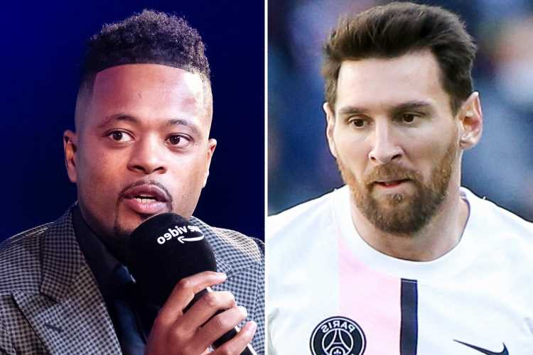 Man Utd icon Patrice Evra claims Ballon d'Or is 'ROTTEN' if Lionel Messi wins award and picks Jorginho or Kante instead