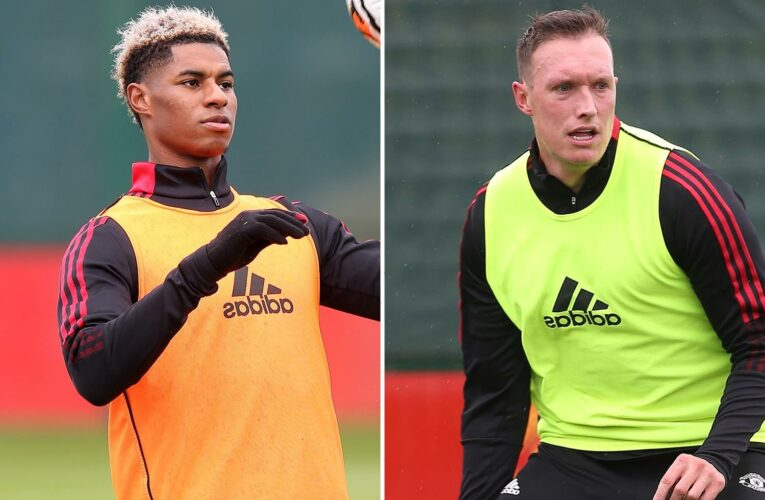 Man Utd will play secret friendly TODAY with Marcus Rashford in contention to play alongside Phil Jones and Co