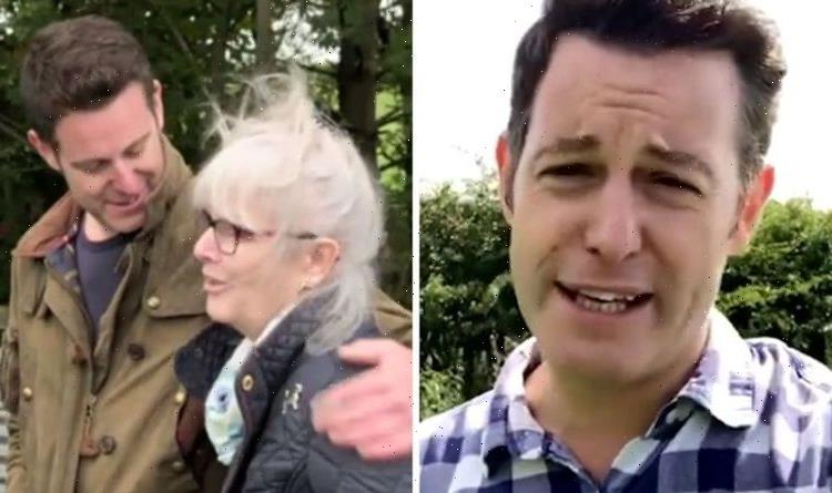 Matt Baker admits TV series was tough for his mum Shes very stoic