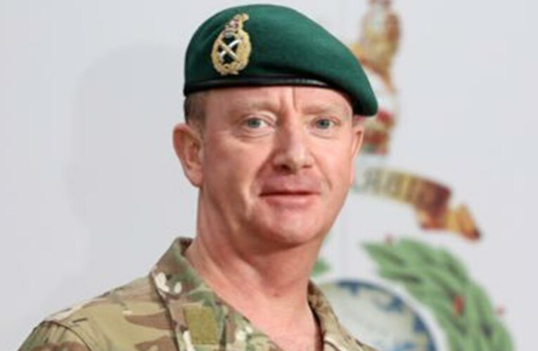 Matthew Holmes dead aged 54 – tributes paid as former Commandant General of the Royal Marines passes away suddenly