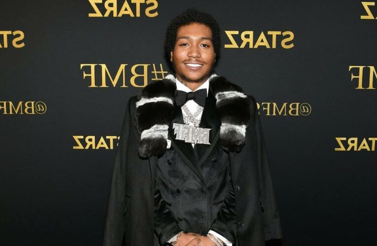 """Meet Demetrius """"Lil Meech"""" Flenory Jr., the BMF Star Who's Breaking Into Hollywood"""