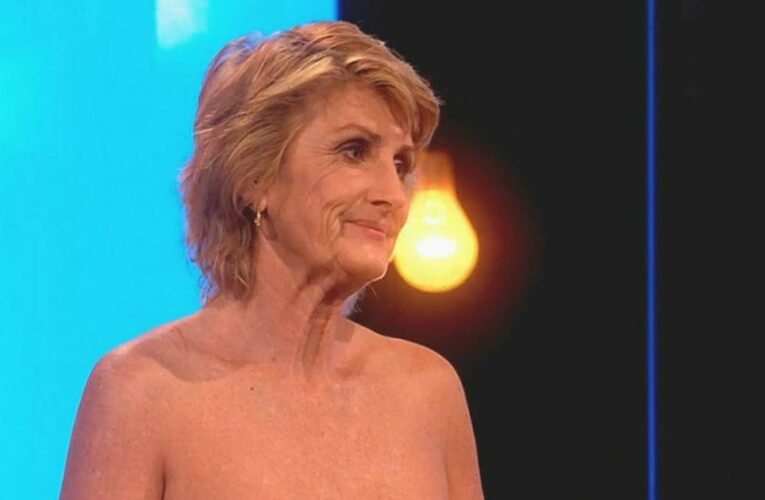 Naked Attractions cougar Leanne performs sex act on banana in raunchy scene