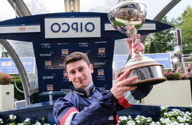 Oisin Murphy sulked like a teenager as he won third jockeys championship on the spin at Champions Day at Ascot