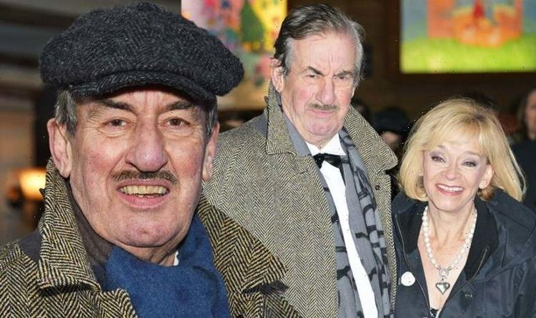 Only Fools' John Challis laid to rest in Arsenal themed coffin as wife opens up on funeral