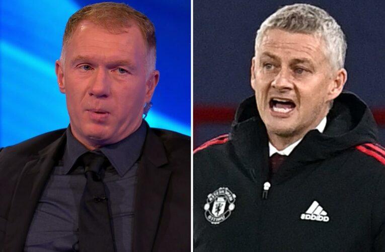 Paul Scholes and Rio Ferdinand slam Man Utd's tactics in first-half Atalanta flop as pressure builds on boss Solskjaer