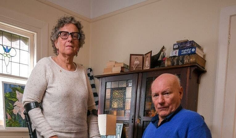 Peter is in a wheelchair after getting polio, but the NDIS says he's too old for funding