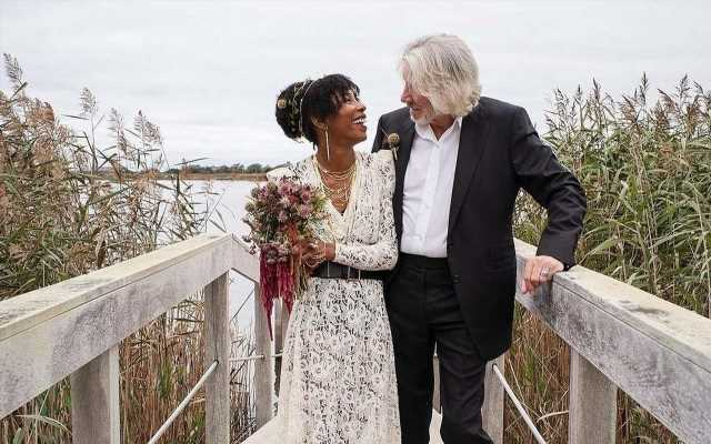 Pink Floyd's Roger Waters Debuts His Bride After Marrying for Fifth Time