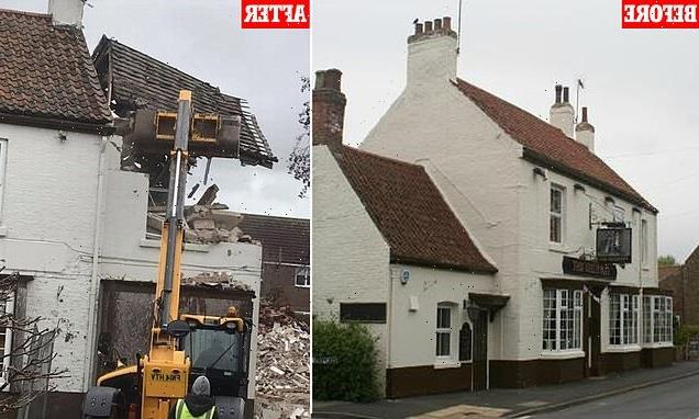 Property tycoon who flattened 200-year-old Yorkshire pub fined £54,000