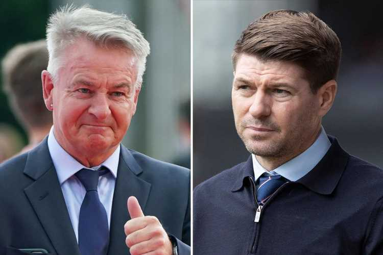 Rangers boss Steven Gerrard 'won't be in Newcastle's top three' choices to be next manager, says Charlie Nicholas