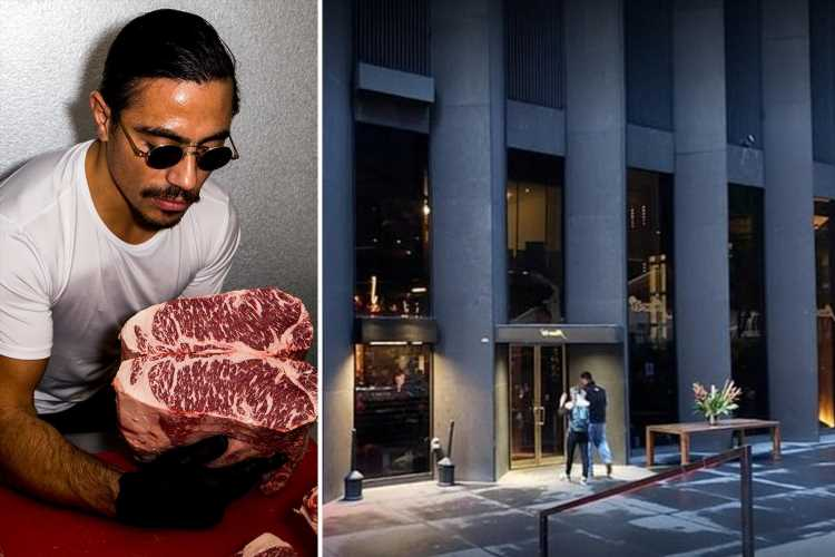 Salt Bae forced to pay $230,000 to ex-waiters 'for conning them out of tips' & FIRING them when they complained