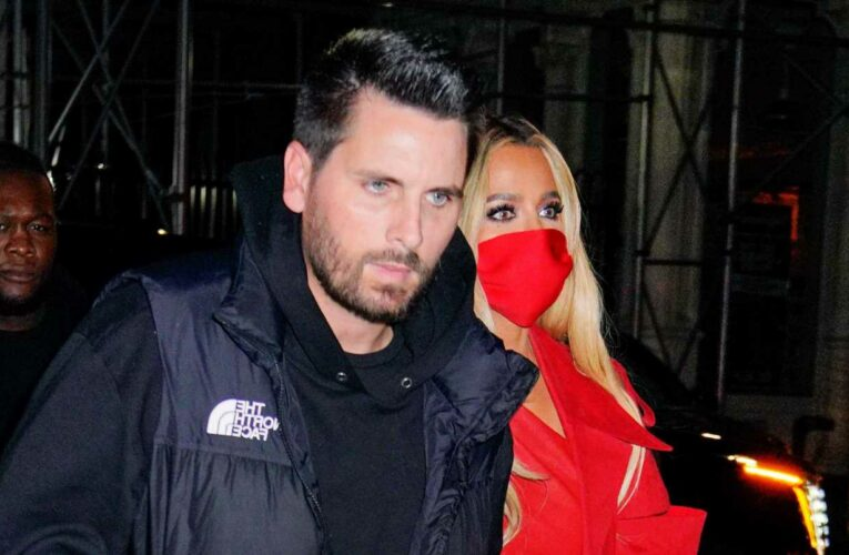 Scott Disick and Khloé Kardashian Attended Kim Kardashian's 'SNL' Afterparty Arm-in-Arm