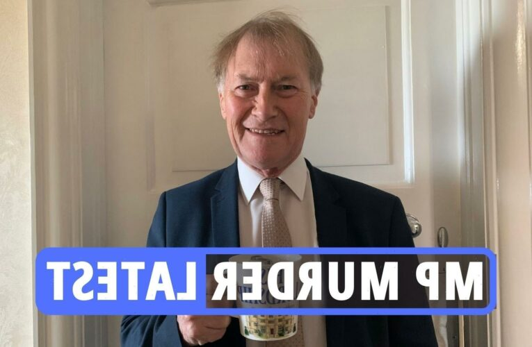 Sir David Amess dead latest – London addresses searched as police declare fatal stabbing of Tory MP a terrorist incident