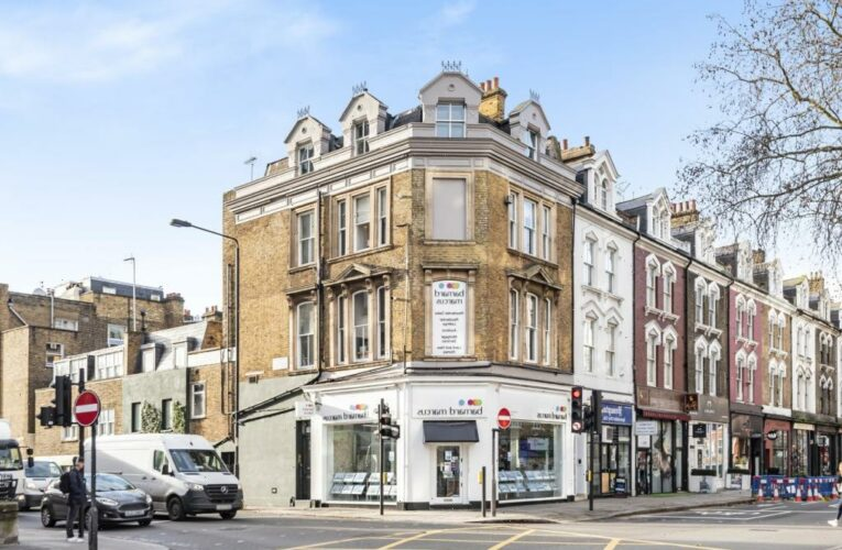 Studio flat in one of London's poshest postcodes on market for £175k – but you need a LADDER to go to bed