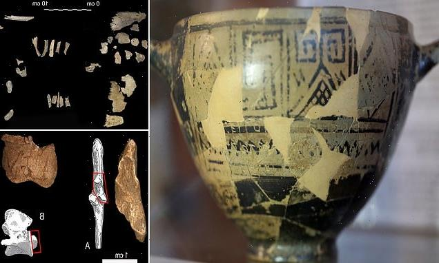 Three humans were buried in the Tomb of Nestor's Cup, study shows