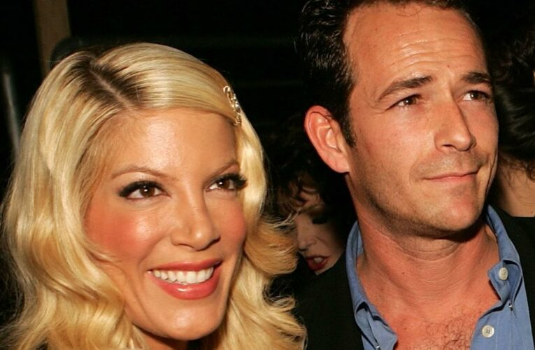 Tori Spelling Says Luke Perry 'Went to Brawl' for Her with Verbally Abusive Ex