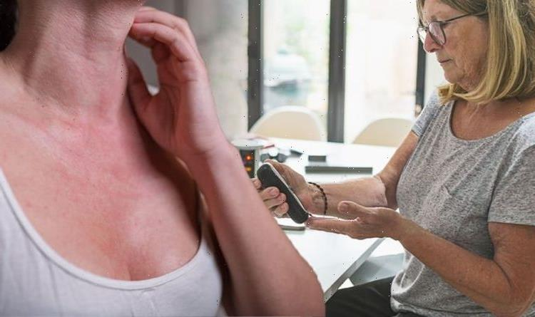 Type 2 diabetes symptoms: The warning sign on your neck that may signify too much insulin
