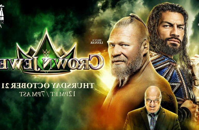 WWE confirm Brock Lesnar vs Roman Reigns to headline Saudi Arabia Crown Jewel event and announce new November UK tour