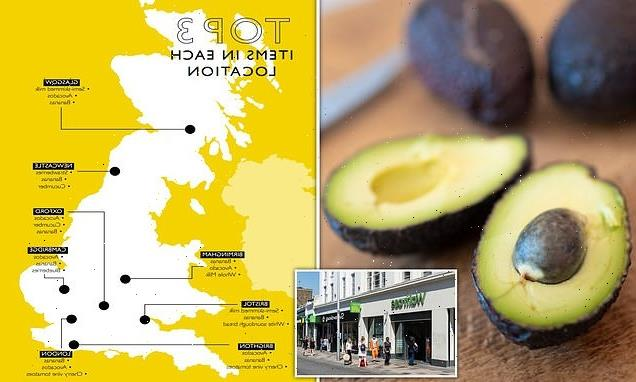 Waitrose reveals rise of the emergency avocado