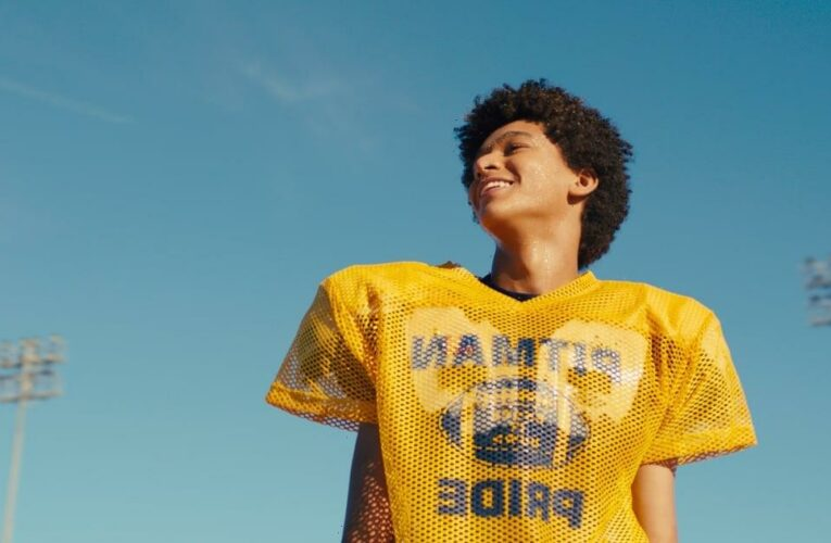 Watch Jaden Michael Play a Young Colin Kaepernick in the Trailer For Colin in Black & White