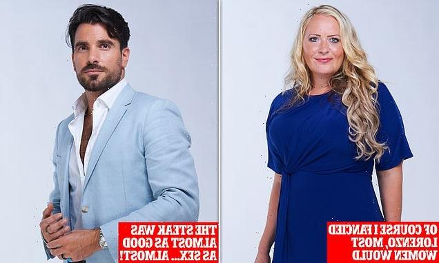 Who'll find love on our blind date? This week it's Nicole and Lorenzo